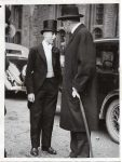 (12) Earl of Harewood (Princess Mary's husband) and son, 1936 (pressphoto London News Agency/Reportagebild, 20 x 15 cm)