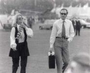 (26) Prince William of Gloucester and his girlfriend Nicole, 22.05.72 (press photo Reportagebild, 23 x 19 cm)