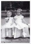 (35) Princesses Margaretha & Birgitta, 1938 (Nilsson-Foto, 12,5 x 9 cm)