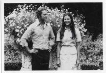 (68) Silvia & Carl Gustaf, Solliden 1976 (Nilsson-Foto, 12,5 x 9 cm)