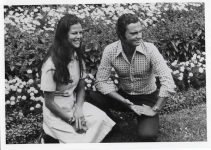(67) Silvia & Carl Gustaf, Solliden 1976 (Nilsson-Foto, 12,5 x 9 cm)