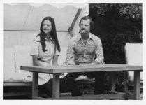 (66) Silvia & Carl Gustaf, Solliden 1976 (Nilsson-Foto, 12,5 x 9 cm)