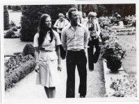 (63) Silvia & Carl Gustaf, Solliden 1976 (Nilsson-Foto, 12 x 9 cm)
