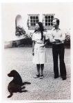 (60) Silvia & Carl Gustaf, Solliden 1976 (Nilsson-Foto, 12 x 8,5 cm)