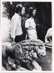 (59) Silvia & Carl Gustaf, Solliden 1976 (Nilsson-Foto, 12 x 9 cm)