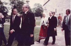 (82) Silvia & Carl Gustaf, 1984 (Nilsson-Foto, 14 x 9 cm)