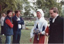 (80) Queen Silvia, 1984 (Nilsson-Foto, 13 x 9 cm)