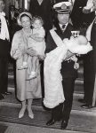 (79) Christening Crown Prince Carl Philip, 1979 (press photo Reportagebild, 18 x 13 cm)