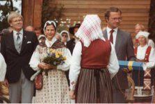 (90) Silvia & Carl Gustaf, Stockholm, 1984 (15 x 10 cm)