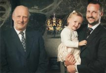 (469) 3 generations of Norwegian Royal Family, 2006