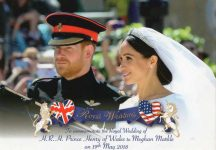 (1910) Wedding Harry & Meghan 19.05.18 (small postcard 15 x 10,5 cm)