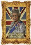 (1931) Queen Elizabeth(16,5 x 11,5 cm)