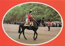 "(1966) Queen Elizabeth riding ""Burmese"""