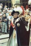 (1976) Queen Elizabeth, Garter Ceremony, Windsor Castle