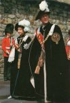 (1975) Elizabeth & Philip, Garter Ceremony, Windsor Castle
