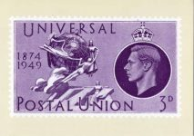 (2011) King George VI (modern postcard)
