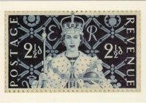 (2013) Queen Elizabeth II (modern postcard)