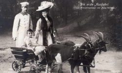 (323) The Crown Prince couple with oldest son, 1907