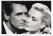 "(9) Grace Kelly in ""To Catch a Thief"", 1955 (modern postcard)"