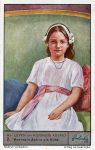 (285) Queen Astrid as child (Liebig collectorcard, 11 x 7 cm)