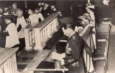 (293) Christening of Prince Albert, 1934