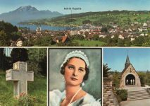 (302) Küssnacht on the Rigi, chapel in memory of Queen Astrid