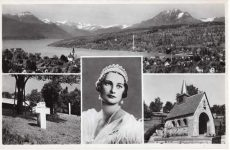 (299) Küssnacht on the Rigi, chapel in memory of Queen Astrid