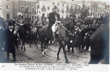 (248) The arrival of king Albert I to Brussels, 1909