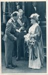 (307) King Leopold welcomes Queen Wilhelmina, 1939