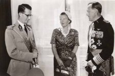 (560) King Baudouin on state visit to the Netherlands, 1959