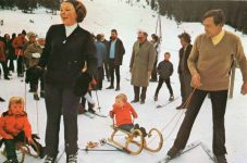 (574) Winter holiday in Austria, 1972