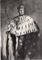 (1229) King Oscar II (modern postcard)