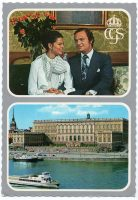 (1241) Engagement Silvia & Carl Gustaf, 1976