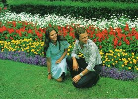(1247) Silvia & Carl Gustaf, Solliden/Öland, 1976