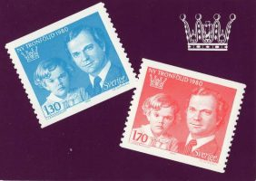 "(1251) Stamps ""New Order of Succession 1980"""