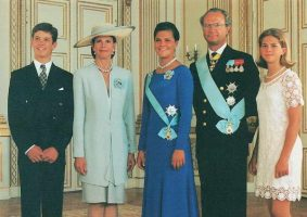 (1265) The Swedish Royal Family, 1995
