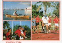 (26) King Taufa'ahau Tupou of Tonga (16,5 x 12 cm)