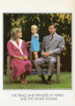 (2029) Diana & Charles with Wililam, 1983 (17 x 12 cm)