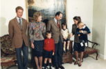 (18) Jean, Josephine-Charlotte, Maria Teresa & Henri with 3 oldest sons (15 x 10 cm)