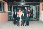 (19) Maria Teresa & Henri with 5 children (15 x 10 cm)