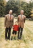 (16) 3 generations - Jean, Henri and Guillaume (15 x 10 cm)