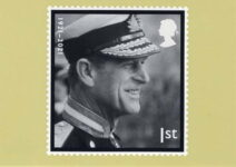 (2060) In memory of Prince Philip - postcard of new stamp