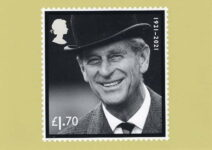 (2061) In memory of Prince Philip - postcard of new stamp