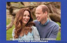 (2064) Catherine & William, 10th wedding anniversary, 29.04.21